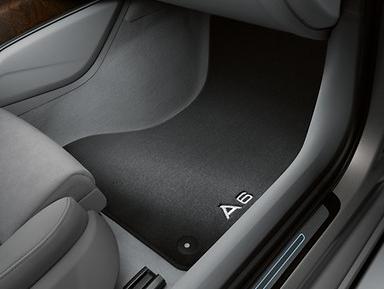 Audi A6 Textil Fußmatten Premium vorn und hinten im Satz Audi Original Zubehör