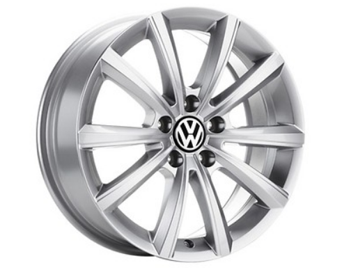 VW Touareg Alufelge 18 Zoll - Design Merano Silber - 1 Stück