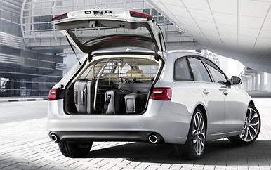 Original Zubehör Gitter Trennwand Quer Audi A6 Avant Transportgitter 4G9017221