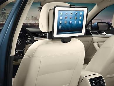 Original VW Kopfstütze / Reise- & Komfort-System / Halter Apple iPad 2 - 4