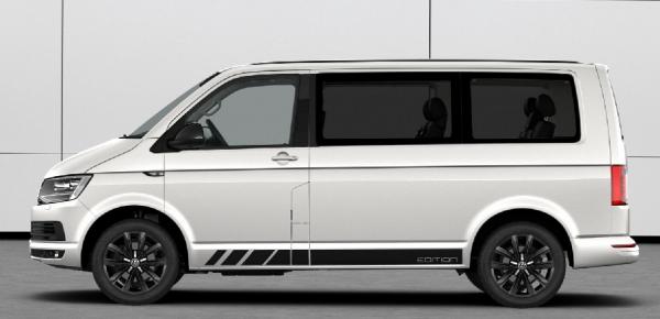 VW 18 Zoll Springfield Felgen Sommerräder T5 T6 Bus Multivan Alufelgen schwarz - 4Stück