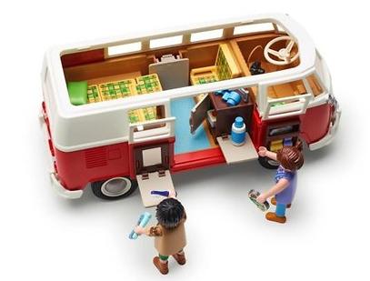 Original VW Playmobil Bulli, T1 Camper 7E9087511A NEU - Aktionspreis