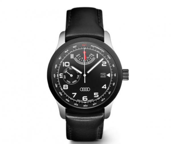 Audi Automatikuhr mit Gangreserve Blackline quattro Kollektion Audi Automatik