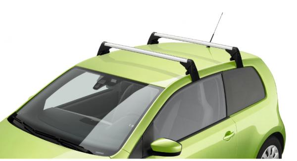 Original Skoda Grundträger Tragstäbe Gepäckträger Dachträger Dachgrundträger Aluminium für 3-türer