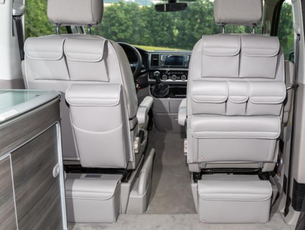 UTILITY für Fahrer-/Beifahrersitz VW T6/T5 California Ocean, Coast, Comfortline, Trendline, Beach /
