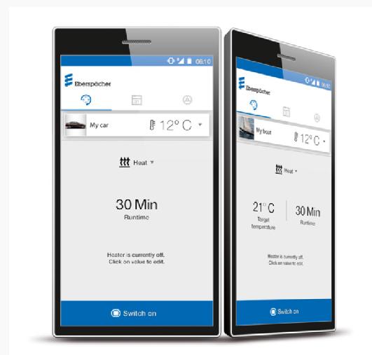 Eberspächer Standheizung Fernbedienung EasyStartWeb - per Handy oder PC