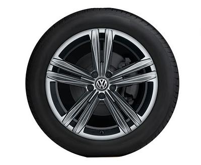 "Original VW Arteon LM-Felge ""Sebring"" 8Jx18 (Galvanograu), 3G8071498Z49 (1 Stück)"