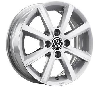 VW Up! Alufelge Merano 15 Zoll / Citigo / Mii - 1S0071495A 8Z8 NEU!1 Stück