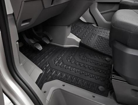 Original VW Crafter Gummi Fußmatten vorne schwarz li/re - ab 2017