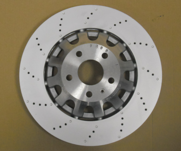 Original Audi A3 RS3 8P Bremsscheiben Bremsen 8P0615301C brake disc NEU 2 Stück