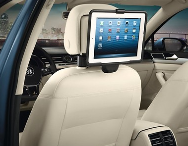 Original VW Kopfstütze / Reise- & Komfort-System / Halter Apple iPad Air