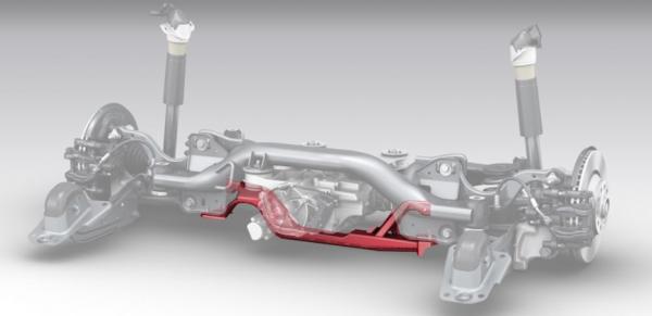 Audi Sport Performance HA-Querträger TTRS nur Coupe