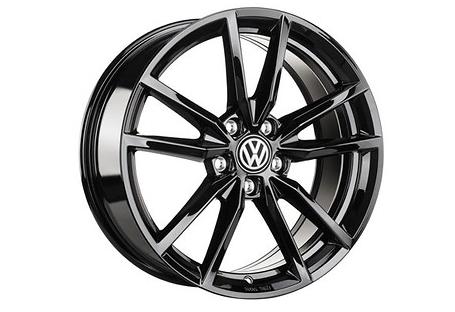 VW Golf 7 VII Pretoria Felgen schwarz Original Volkswagen 18 Zoll 4 Stück NEU - Aktionspreis