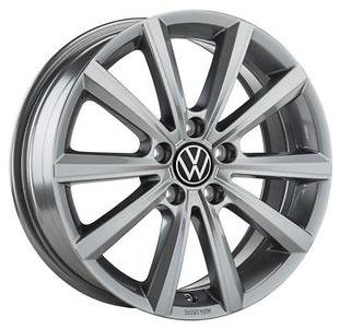 "VW Original Alufelge 16 Zoll T-Cross in Adamantium Dark Mett. ""Merano"" 4 Stück NEU"