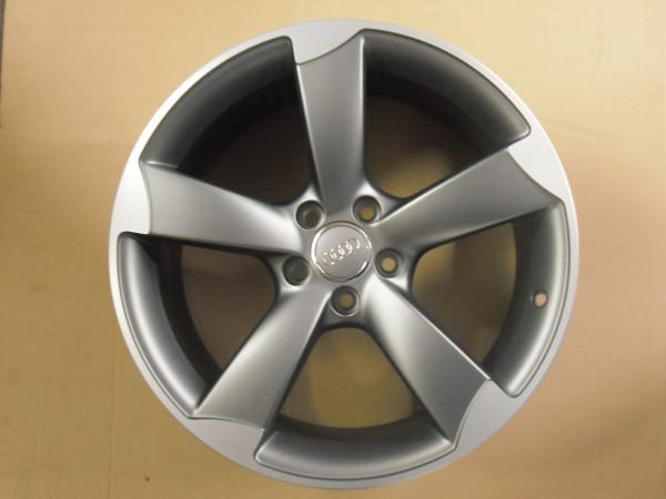 Audi Original A3 8P 18 Zoll Titan Alufelge 5 Arm Rotor Felge- 1 Stück