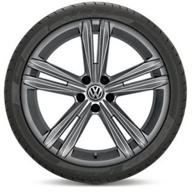 "VW Tiguan Alufelgen 18 Zoll neu Design ""Sebring"" Farbe Grau- 1 Stück"