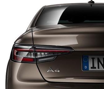 AUDI ORIGINAL A4 Limo B9 LED Rückleuchten Satz abgedunkelt vom Audi Partner