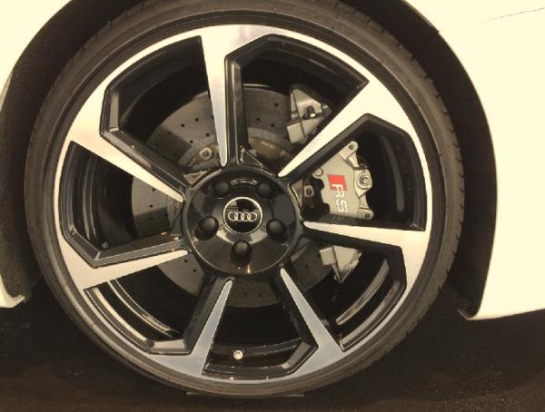 Audi Original TTRS TTS TT 8S 20 Zoll Felge 9x20 Rotor Original Black-1 Stück -NEU