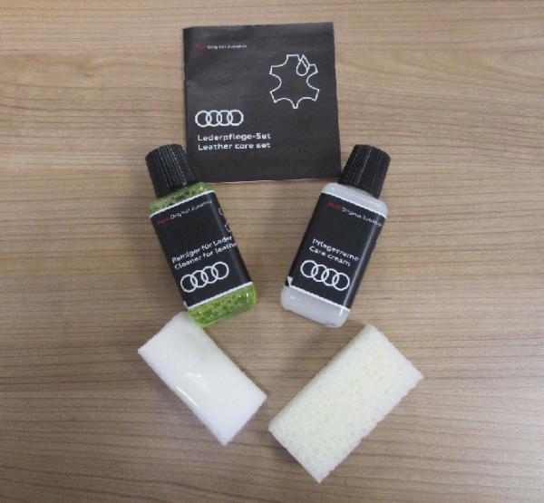 Original Audi Lederpflege / Lederreiniger im Set, ---NEU/OVP 4L1096372