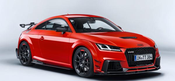 Audi Sport Performance 20-Zoll-Aluminium-Vollfräsrader im 10-Speichen-Design in Schwarz matt u. Reif
