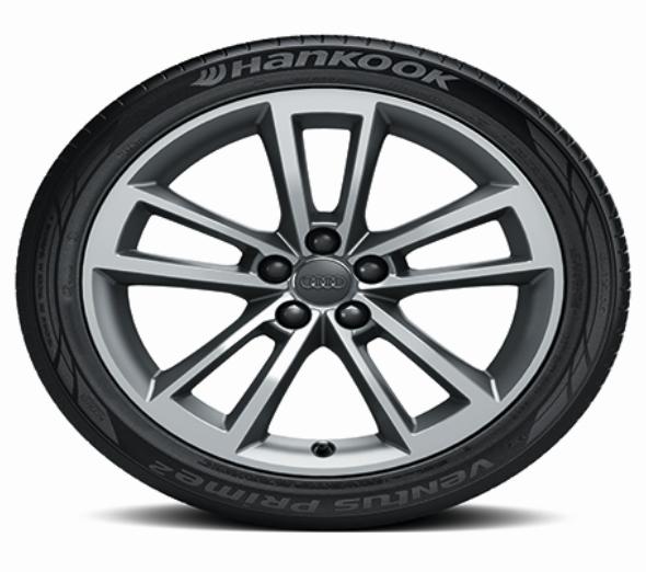 "Audi A1 17 "" Aluminium-Gussräder im 5-Arm-Cavo-Design NEU - 4 Stück"
