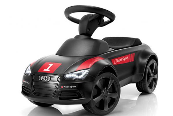 Original Audi Junior quattro Motorsport schwarz Rutschauto 3201401000