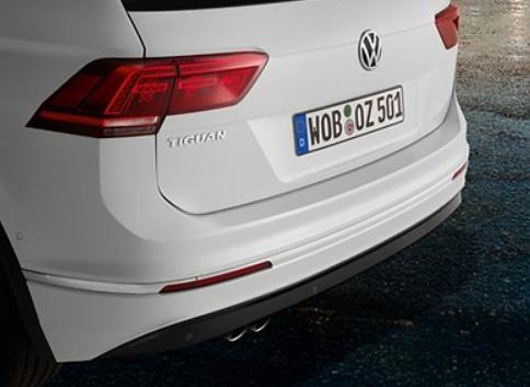 Original VW Tiguan (MQB) ab 2016 Nachrüstsatz Einparkhilfe hinten - NEU