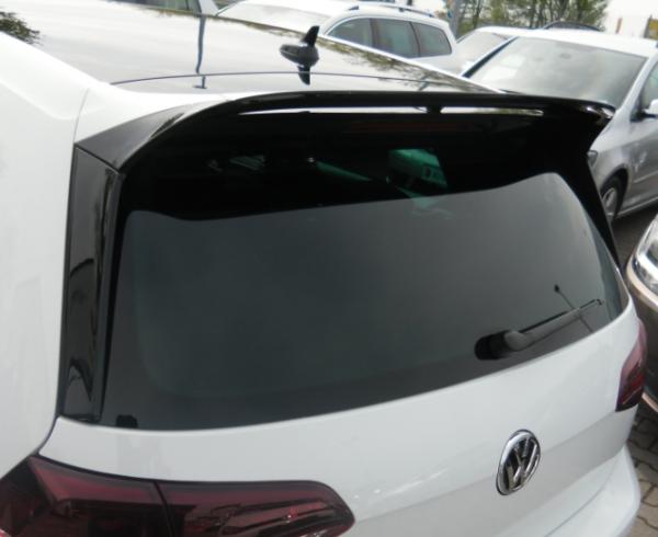 VW Golf 7 5G GTI Clubsport Dachkanten Spoiler Set Original Tuning Spoiler Heck