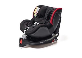 Original Audi Kindersitz Dualfix I-SIZE schwarz/rot Kindersitz I-Size Audi