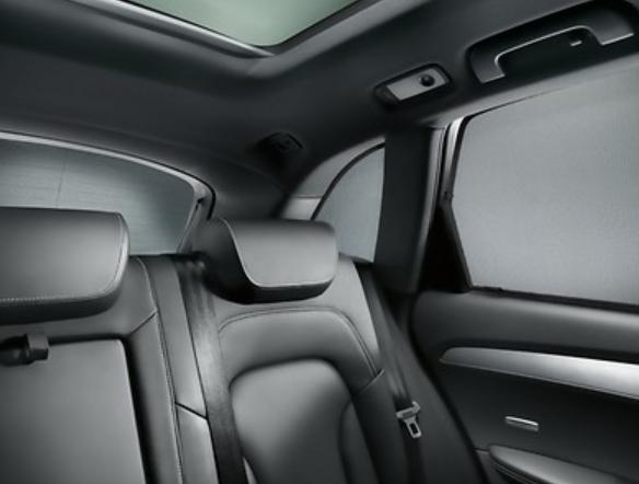 Audi Sonnenschutz Q3 8U 2er Set 8U0064160A hintere Seitenscheiben