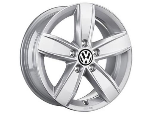 ORIGINAL VW Alufelgen Leichtmetallfelgen Corvara 6 x16 VW T-ROC - 4 Stück