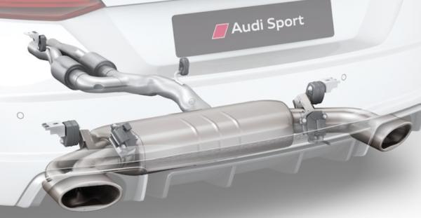 Original Audi TTS Audi Sport Titan-Schalldämpferanlage - Aktionspreis nur kurze Zeit