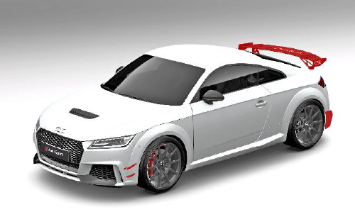 Audi Sport Performance Aerokit Carbon / schwarz glänzend (Variante 3)