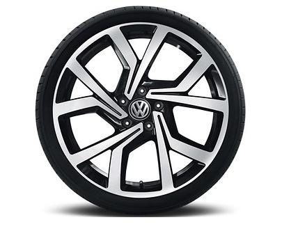 VW Volkswagen GTI Clubsport Original Zubehör Felge Alufelge BRESCIA 7,5 x 19 - 1 Stück
