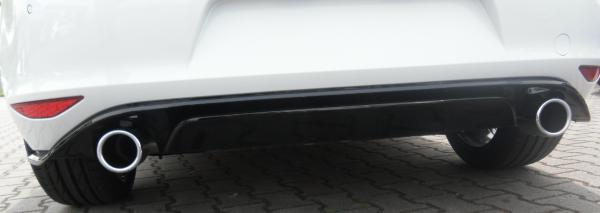 GTI Clubsport Diffusor Heckdiffusor VW Golf 7 VII CS Original schwarz