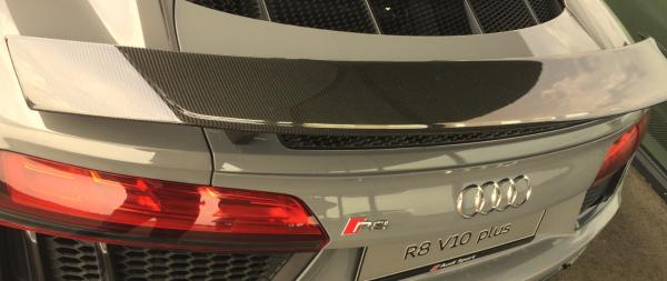 Audi Original R8 Carbon Spoiler Heckklappe 4S0 827 918 Neuteil