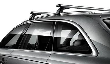 Audi A4 8W B9 Avant Grundträger Original Transport Dachträger Dachreling T-Nut