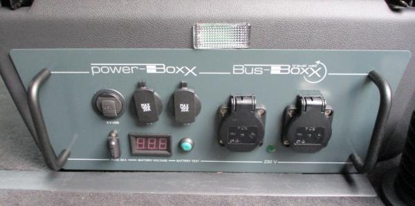 T5/T6/T6.1 PowerBOXX Anthrazit, Elektromodul 230Volt für externe Stromversorgung