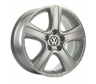 VW T5 Multivan Alufelgen 18 Zoll - Dakar-Design silber vom VW Partner (4 Stück)