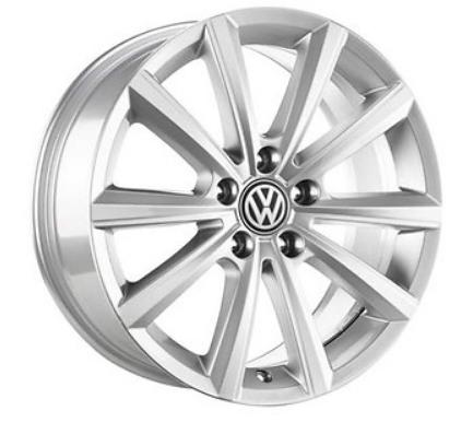 "VW Original Alufelge 16 Zoll T-Cross in Silber ""Merano"" Design 4 Stück NEU"