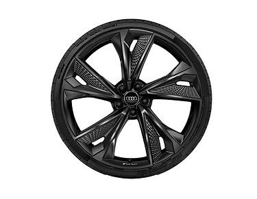 Audi ORIGINAL RS6 / RS7 Winterkomplettradsatz 22 Zoll in Aluminium 4K0073222AAX1