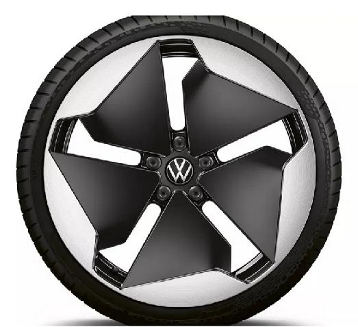 "Original VW ID3 Alufelge 20Zoll Design""Sanya"" schwarz glanz 1 Stück (NEU)"