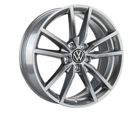 VW Golf 7 VII Pretoria Felgen Grau Original Volkswagen 18 Zoll 4 Stück NEU