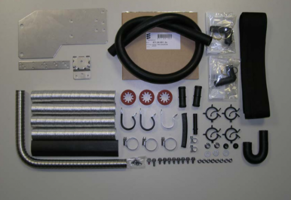 VW Golf 7 VII Standheizung incl. Einbausatz Eberspächer Neu 2,0TDI