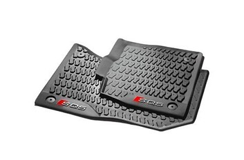 Original Audi SQ5 Gummimatten Fußmatten Allwetter Gummi vorne 2 Stück
