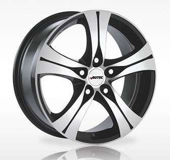 VW T5 Multivan Alufelgen 17 Zoll - Autec Typ Ethos vom VW Partner (4 Stück)