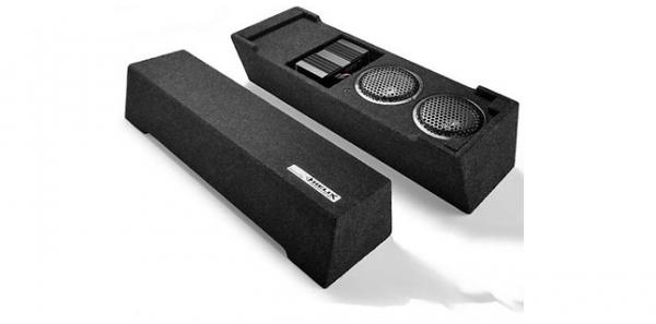 VW Original Volkswagen Helix Soundsystem Plug & Play Kofferraum 300W Sinus