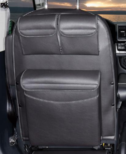 Brandrup UTILITY mit MULTIBOX Maxi für Fahrerhaussitze VW T6/T5 California Beach NEU