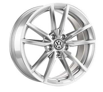 VW Golf 7/8 Pretoria Felgen silber Original Volkswagen 18 Zoll 4 Stück NEU Aktion