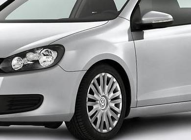 Original VW Volkswagen Alufelgen Design Preston 18 Zoll Golf 7 VII NEU - 4 Stück